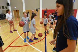 אימוני כדורסל לילדים