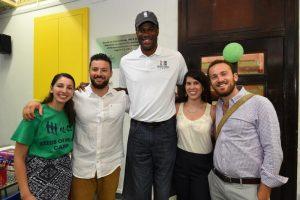 אימון כדורסל לנוער בירושלים