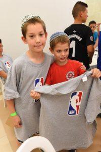משחקי כדורסל לילדים
