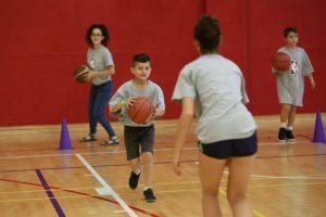 אולם כדורסל - אימוני כדורסל לילדים